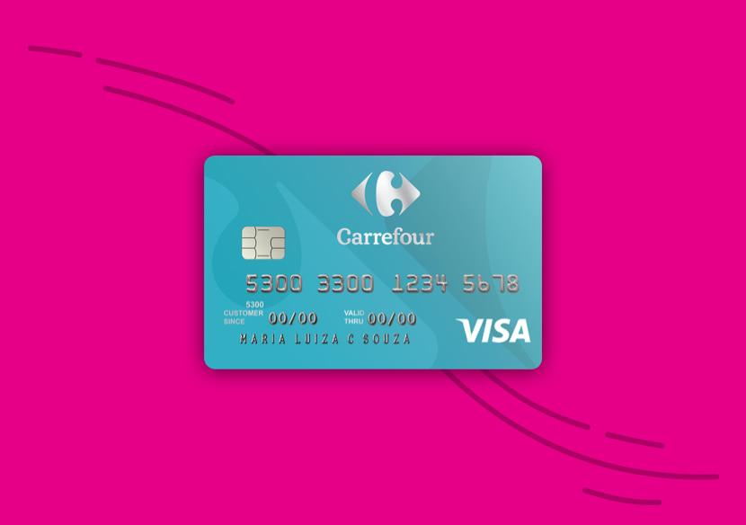 Cartão Carrefour: anuidade ZERO com uma compra no mês